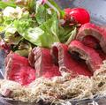 料理メニュー写真自家製 和風ローストビーフ