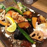 美味しいお魚とたっぷり野菜が一緒に楽しめる一皿