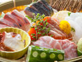 料理メニュー写真旬鮮魚のおまかせ6点盛り