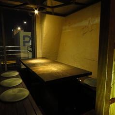 個室席は人気のため要予約!