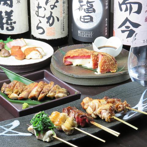 赤坂駅すぐ 日本酒と和食、焼き鳥
