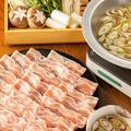 料理メニュー写真三元豚のさっぱり葱しゃぶ