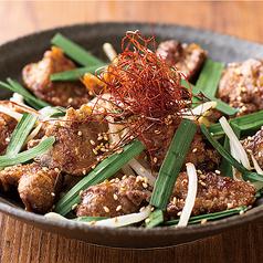 大山鶏レバニラ炒め