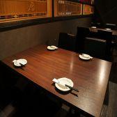 クラシックなスタイルのテーブル席も☆