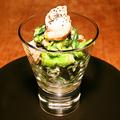 料理メニュー写真菜の花と帆立の香醸マリネ