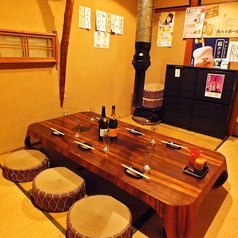 [2F]6名用のVIPテーブル個室、最大8名迄 焼肉/個室/焼酎/貸切 船橋/飲み放題/居酒屋