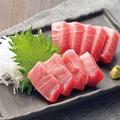 料理メニュー写真三崎の本マグロ 相盛