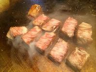ステーキの焼き加減