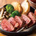 料理メニュー写真和牛鉄板焼き