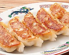 料理メニュー写真特製肉汁大餃子