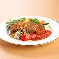 料理メニュー写真黒豚のカツレツ トマトソース
