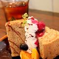 料理メニュー写真シフォンケーキ 紅茶のかほり