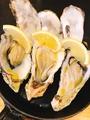 料理メニュー写真生牡蠣(1個)