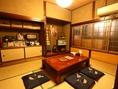 昭和の一軒家にお邪魔したかのような空間のある少人数個室は最大6名様OKです!