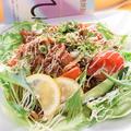料理メニュー写真牛焼肉サラダ