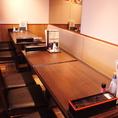 梅田での飲み会なら大阪名物の串カツが自慢のいっとく 阪急三番街店にお任せください!!ちょうちんがたくさん並んでいる、にぎやかな外観が目印です♪の少人数での飲み会はもちろん、大人数宴会もお待ちしております!