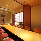 12名様用の掘りごたつ式の個室。こちらも大人気の一部屋です。結納 顔合わせ で検索。