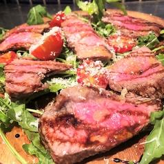 国産牛ランプ肉のタリアータ バルサミコソース