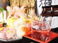 豊富な地酒、地焼酎もご用意しております!お寿司やお造りとの相性は抜群です!