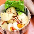 料理メニュー写真お席で仕上げるポテトサラダ