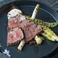 牛肩ロース肉とお野菜のシンプルグリル