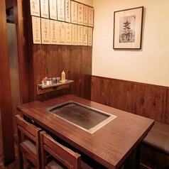 ◆テーブルで鉄板焼き◆