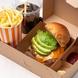 4種類のハンバーガーセットがテイクアウトOK☆