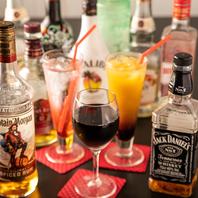 カクテルなどお酒の種類も豊富にご用意しております!