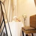 【結婚式二次会に】控室のご案内も致します