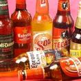 世界各国のビールが大集合!ビール党の方には、嬉しい品ぞろえ♪