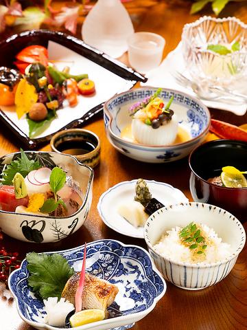 ≪ディナー≫懐石コース『風』 8000円(税・サ 別)