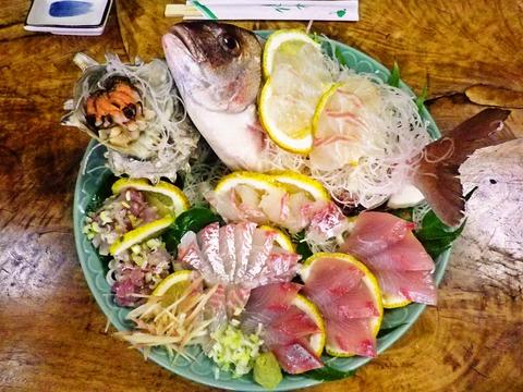 地元の魚を使っているので新鮮でおいしい。魚介類鮮度抜群のお店で新鮮な味を堪能!