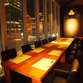 人数に応じてお席ご用意致します。《有楽町/銀座/女子会/接待/個室/飲み放題/食べ放題/しゃぶしゃぶ/夜景/歓迎会/誕生日》