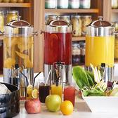 フレッシュな「ブレックファストブッフェ」、ホテルの本格料理をカジュアルに楽しめる「ランチ・ディナーブッフェ」