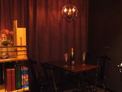 Bar plus Sweets Two rings スイーツバー・ツーリングスの雰囲気1
