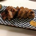 料理メニュー写真三元豚肩ロースの西京焼