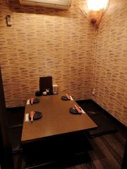個室は1つ1つ雰囲気が異なります。