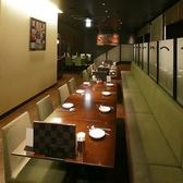 4名席×4席 ※写真は宴会使用時一列で宴会が可能♪