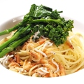 料理メニュー写真【パスタ】サルシッチャと菜の花のオイルソーススパゲッティーニ