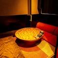 ◇窓あり個室◇2~3名限定◆卓袱台・円卓ソファー個室◆