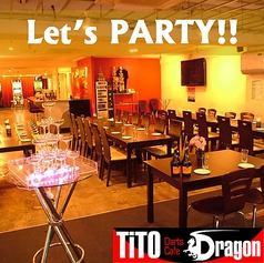 Darts Cafe TiTO Dragon ティト ドラゴンの雰囲気1