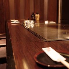 ◆目の前で調理が見れるカウンター◆