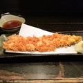 料理メニュー写真あなごの天ぷら