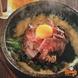 〆にも【石焼ローストビーフ丼】