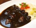 料理メニュー写真黒カレー