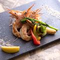 料理メニュー写真赤海老のグリル
