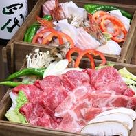 最上級の和牛など様々な肉料理を御用意