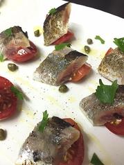 秋刀魚の炙りマリネ