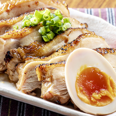 料理メニュー写真おつまみ鶏チャーシュー