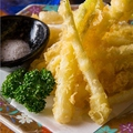料理メニュー写真【季節限定】島らっきょの天ぷら